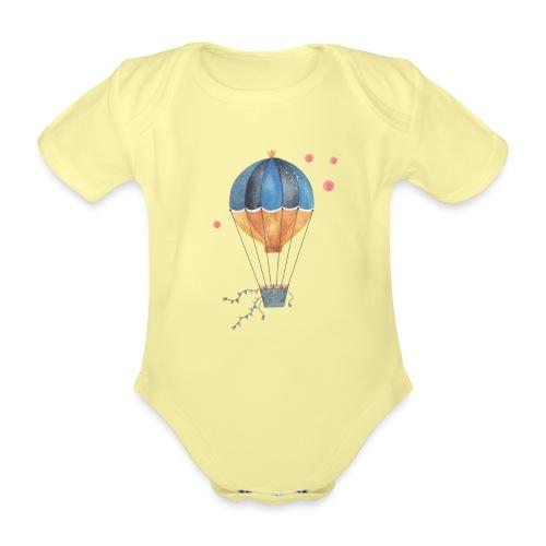Progetto senza titolo 9 - Body ecologico per neonato a manica corta