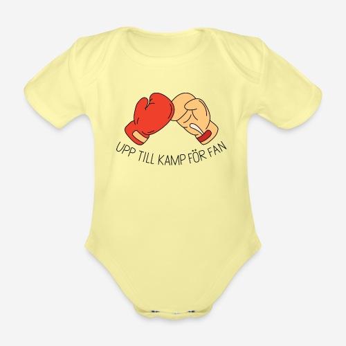 Upp till kamp - Ekologisk kortärmad babybody