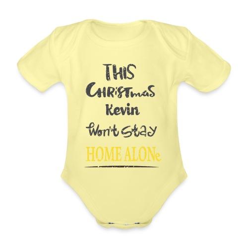 Kevin McCallister Home Alone - Ekologiczne body niemowlęce z krótkim rękawem