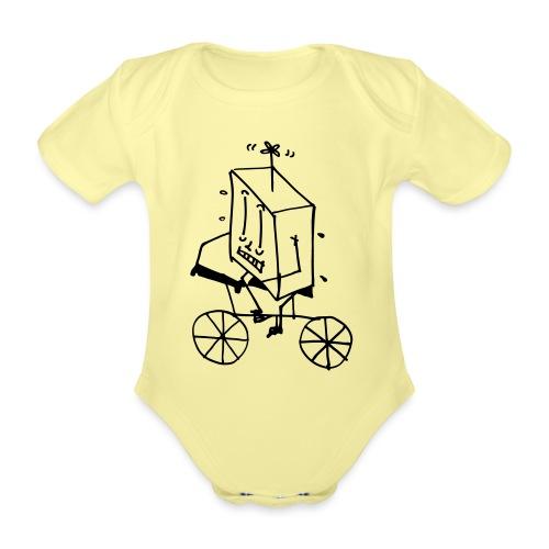 coso bici - Body ecologico per neonato a manica corta