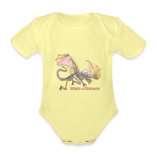 Bonedragon - Baby Bio-Kurzarm-Body