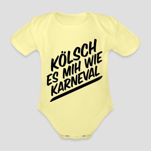 daeHoot Karneval - Baby Bio-Kurzarm-Body