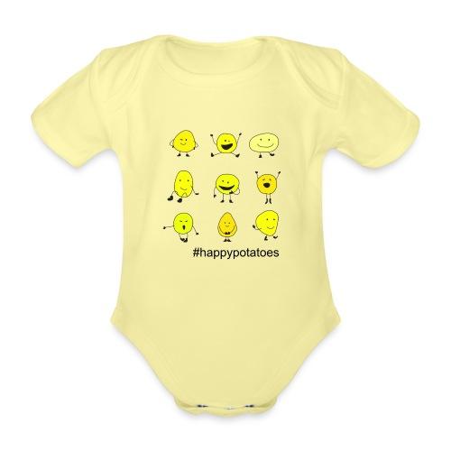 9 smilies - Baby Bio-Kurzarm-Body
