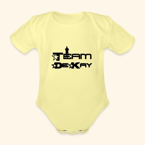 Team_Tim - Organic Short-sleeved Baby Bodysuit