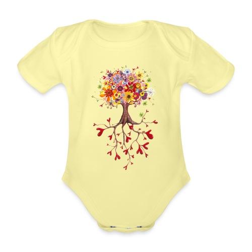 Das Streben nach Glück - Baby Bio-Kurzarm-Body