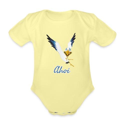 Lachmöwe Ahoi - Baby Bio-Kurzarm-Body
