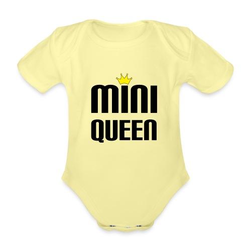 Queen Baby Geschenk - Baby Bio-Kurzarm-Body