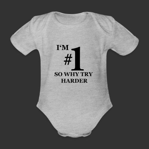 T-shirt, I'm #1 - Ekologisk kortärmad babybody