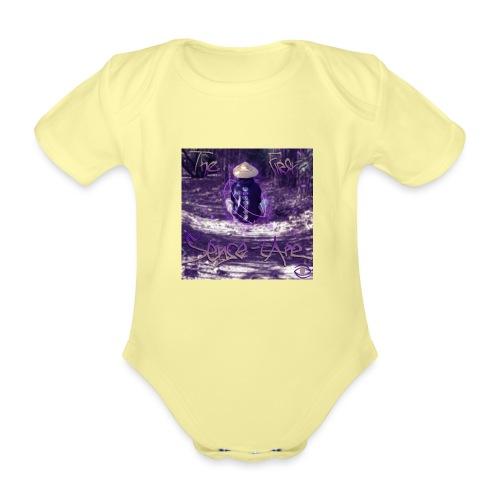 the first sense tape jpg - Organic Short-sleeved Baby Bodysuit