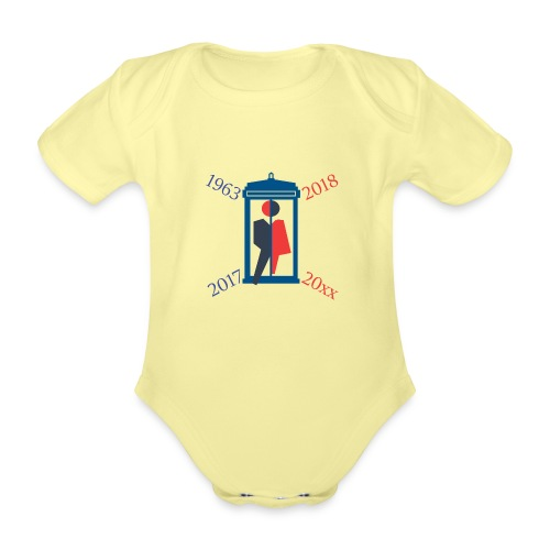 Mr or Ms Who - Organic Short-sleeved Baby Bodysuit
