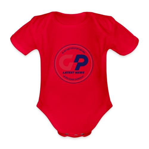 retro - Organic Short-sleeved Baby Bodysuit