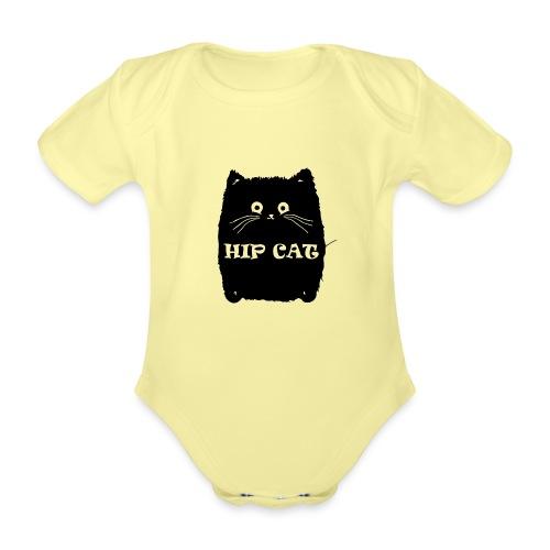 HIP CAT - Body Bébé bio manches courtes