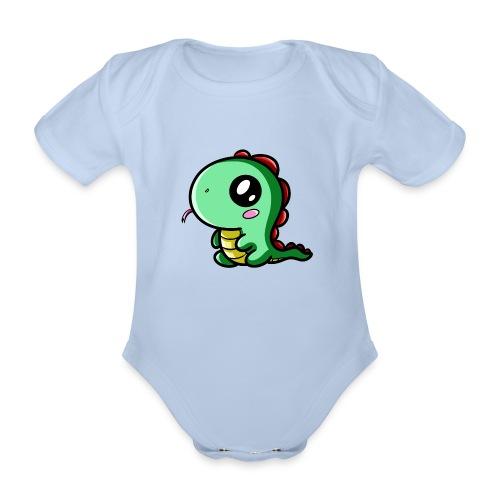 Dinosaure Kawaii - Body Bébé bio manches courtes