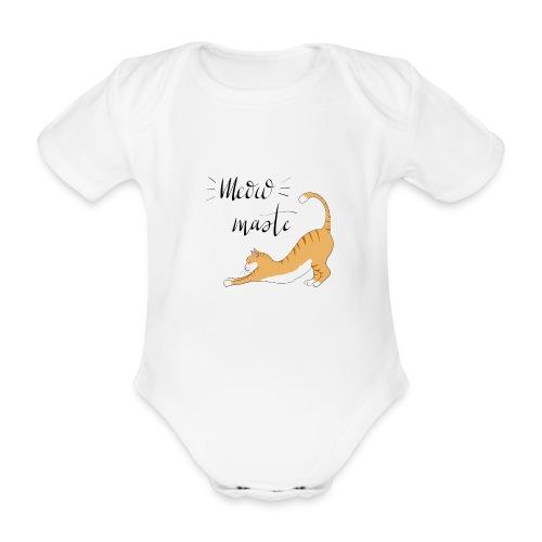 Meowmaste - Baby Bio-Kurzarm-Body