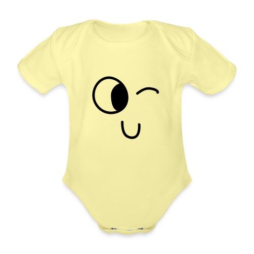 Jasmine's Wink - Baby bio-rompertje met korte mouwen