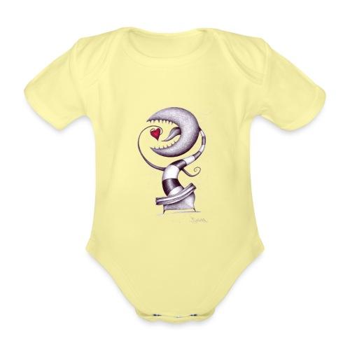 Carnivora Pianta Mangia Amore - Body ecologico per neonato a manica corta