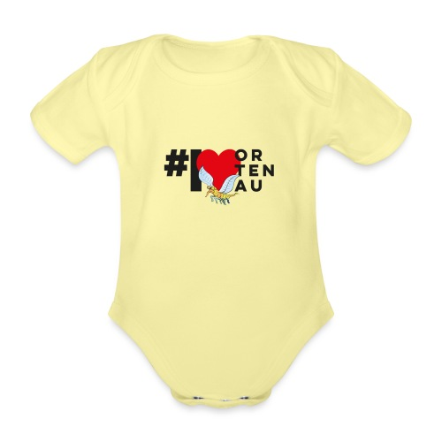 Robby loves Ortenau - Baby Bio-Kurzarm-Body