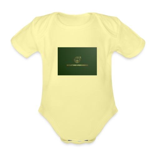 NM Clothing & Merchandise - Kortærmet babybody, økologisk bomuld