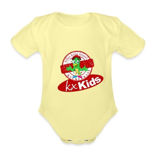 kx Kids Kuckukrass - Baby Bio-Kurzarm-Body