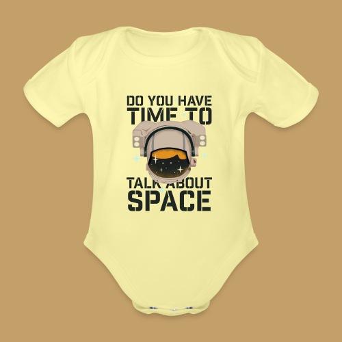 Time for Space - Ekologiczne body niemowlęce z krótkim rękawem