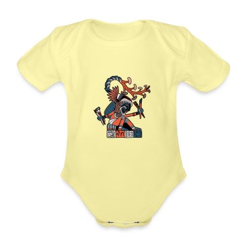 MAESTRO MEZCALERO PREHISPÁNICO - Body orgánico de manga corta para bebé