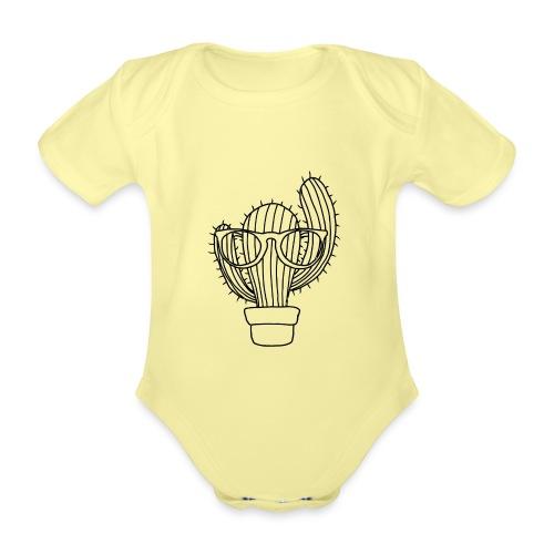 Kaktus - Baby Bio-Kurzarm-Body