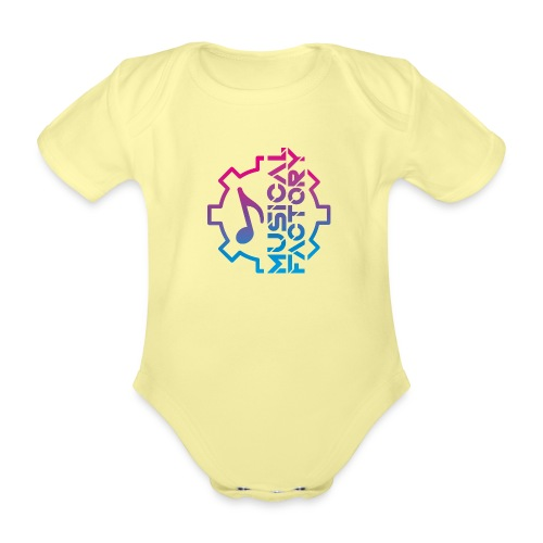 Musical Factory Marchio - Body ecologico per neonato a manica corta