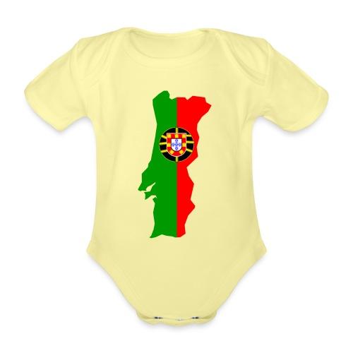 Portugal - Baby bio-rompertje met korte mouwen