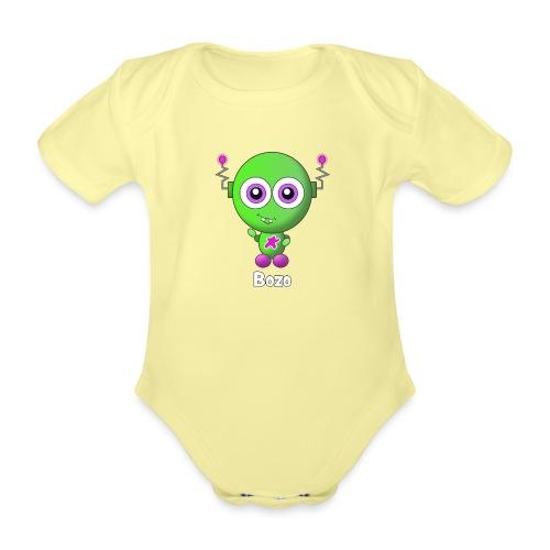 Bozo - Baby bio-rompertje met korte mouwen