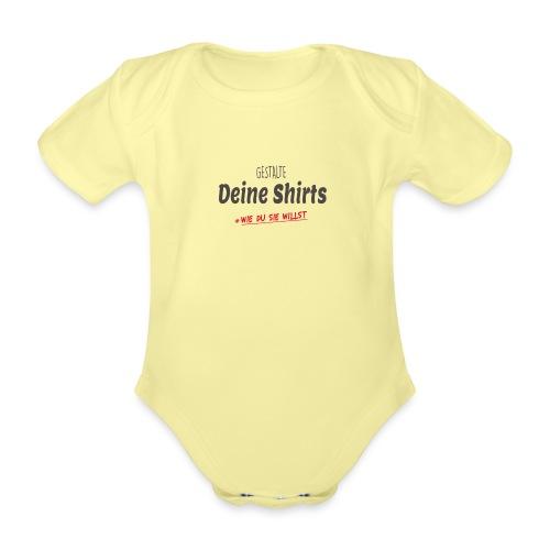 Dein Design - Baby Bio-Kurzarm-Body