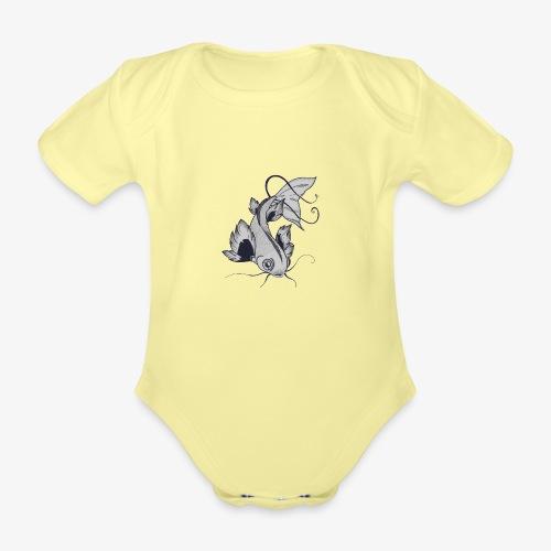 Poisson - Body Bébé bio manches courtes