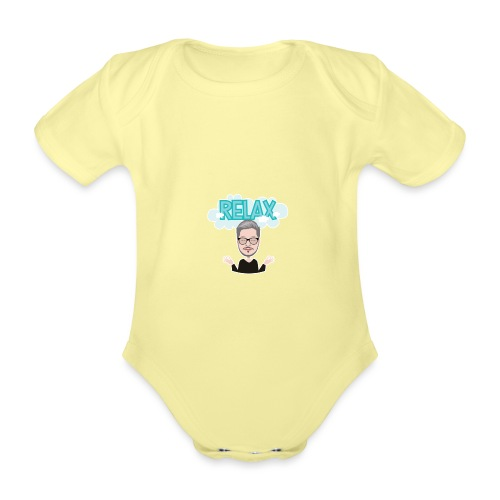 Relax - Organic Short-sleeved Baby Bodysuit