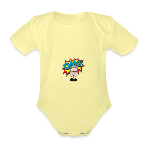 OMG! - Organic Short-sleeved Baby Bodysuit