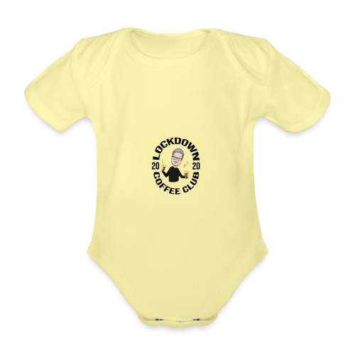Lockdown Coffee Club 2020 - Organic Short-sleeved Baby Bodysuit