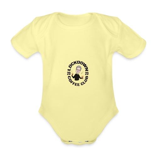 Lockdown Coffee Club 2020 - Organic Short-sleeved Baby Bodysuit