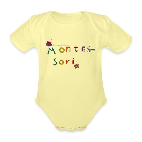 Happy Montessori - Vauvan lyhythihainen luomu-body
