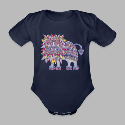ROAR! - Organic Short-sleeved Baby Bodysuit