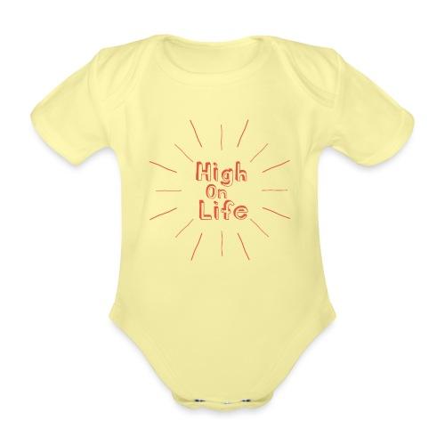 High On Life - Ekologisk kortärmad babybody