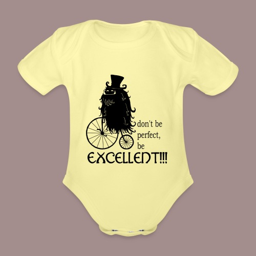 Excellent2 - Baby Bio-Kurzarm-Body