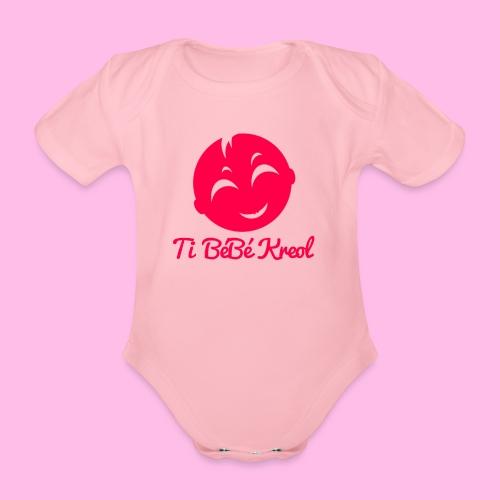 Collection Ti Bébé Kreol #1 - Body bébé bio manches courtes
