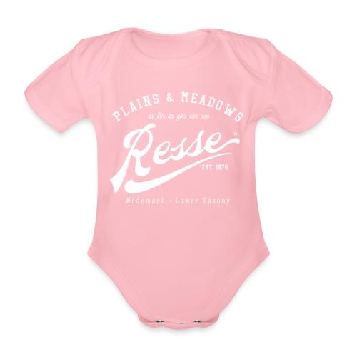 Resse Retrologo - Baby Bio-Kurzarm-Body