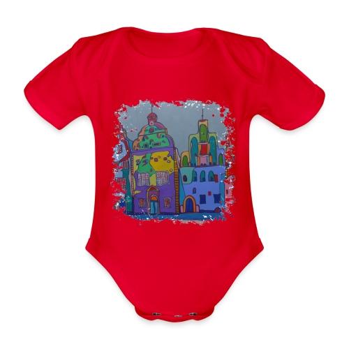 Riga - Baby Bio-Kurzarm-Body