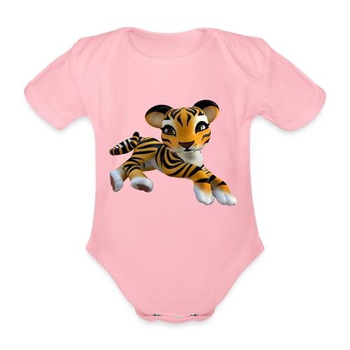 Little Tiger - Baby Bio-Kurzarm-Body