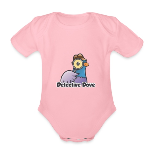 Detective Dove Logo - Baby Bio-Kurzarm-Body