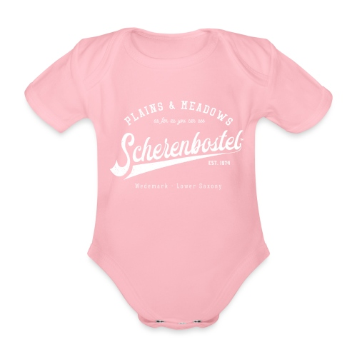 Scherenbostel Retrologo - Baby Bio-Kurzarm-Body