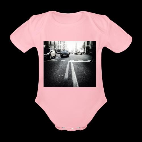 IMG 0806 - Organic Short-sleeved Baby Bodysuit