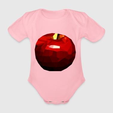Apple - Organic Short-sleeved Baby Bodysuit