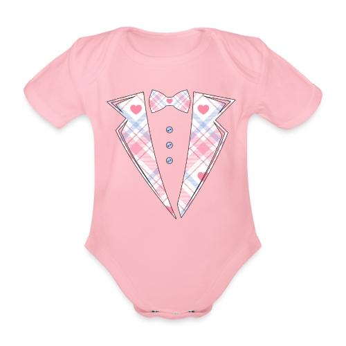 bébé costume rose Cadeau - Body Bébé bio manches courtes