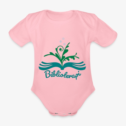 Biblioterapi - börja så! - Ekologisk kortärmad babybody