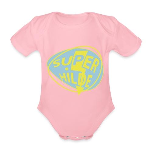 superhilde - Baby Bio-Kurzarm-Body